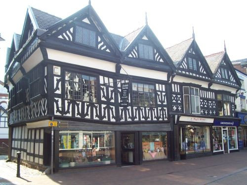 Old Shops, Nantwich Square