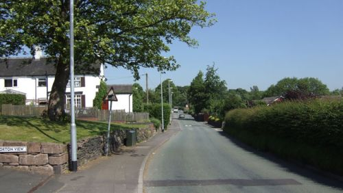 Norton lane, Norton in the moors, Staffordshire.
