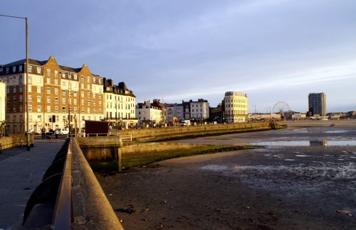 Margate in the evening light. Kent. April 2006