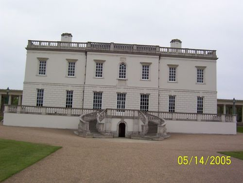 Queen's house in Greenwich, part of The National Maritime Museum