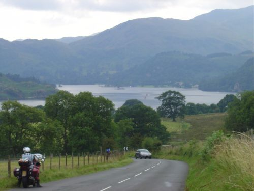 View to Ullswater from the A5091, Lake District National Park