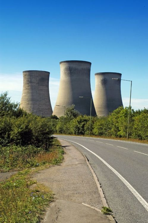 Didcot Power Station, Didcot, Oxfordshire.
