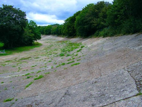 Old brooklands race track, Brooklands Museum, Weybridge  -