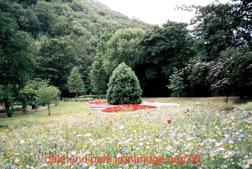Dale end park, Ironbridge, Shropshire
