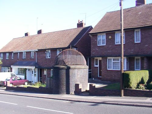 Canal airshaft, Old Hill, West Midlands