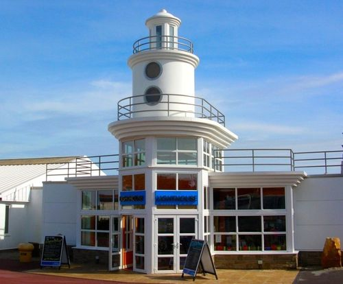 Lighthouse entertainment centre, Whitley Bay Holiday Park, Whitley Bay, Tyne & Wear.