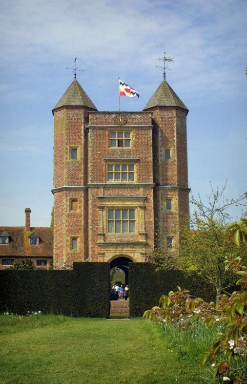 The Tower at Sissinghurst Castle Gardens, Kent.