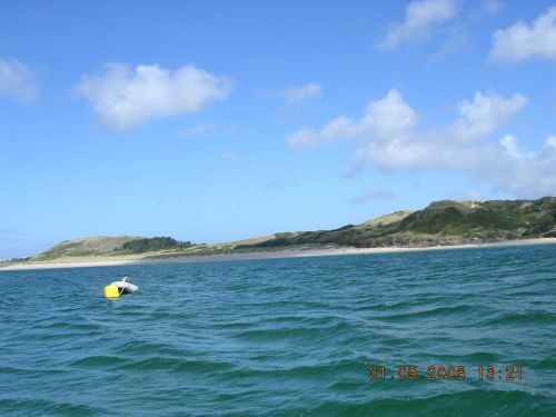 Approaching Rock, Cornwall, from the Padstow Ferry