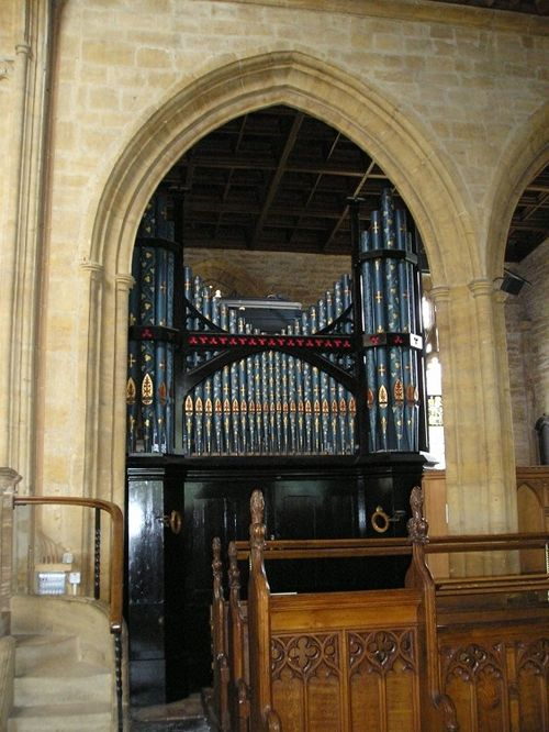 Martock church interior