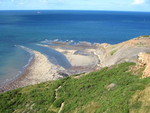 Port Mulgrave, North Yorkshire (former Victorian Alum mines).