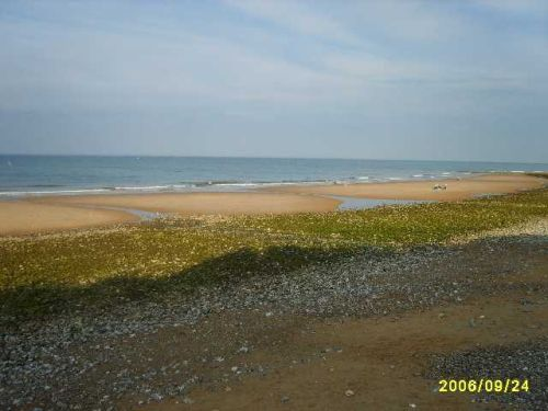 The Beach at East Runton, Norfolk, in late September
