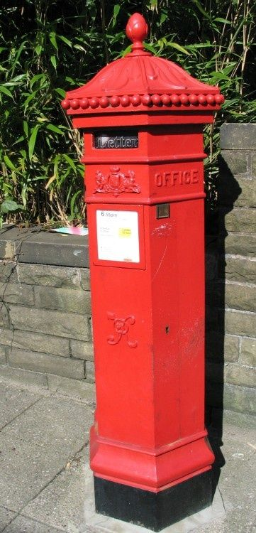 Victorian Postbox, Ramsbottom