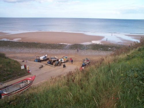 Another view of the Beach and Staithe at East Runton, Norfolk