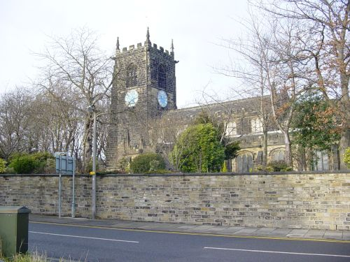 ALL HALLOWS CHURCH, ALMONDBURY, HUDDERSFIELD -