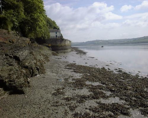Dylan Thomas's House, Laugharne, Carmarthenshire, Wales