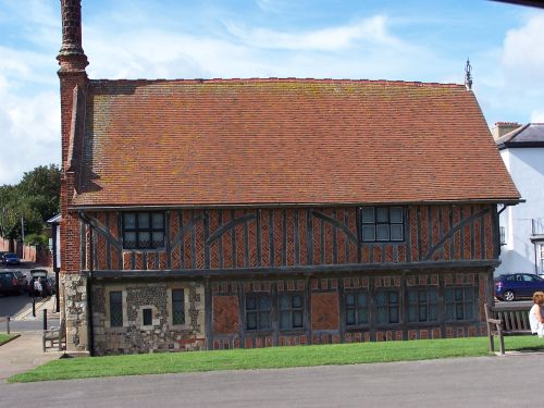 The Moot Hall, Aldeburgh Museum, Aldeburgh, Suffolk.