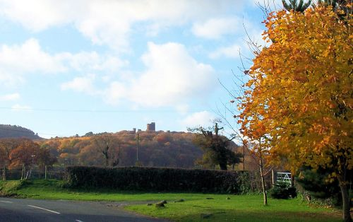 Beeston Castle in Tarporley, Cheshire.