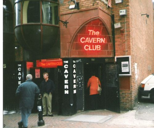 The famous Cavern Club in Liverpool
