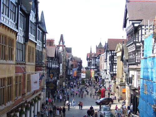 Chester Town Centre, Chester