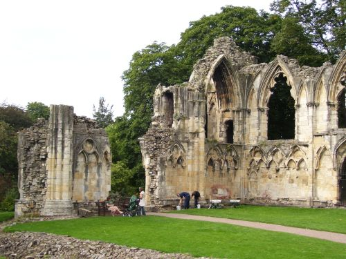 Ruins of St Mary's, York