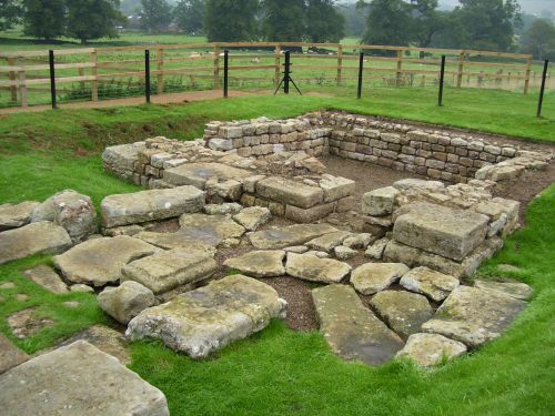 Roman Ruins, Chesters Roman Fort, Northumberland