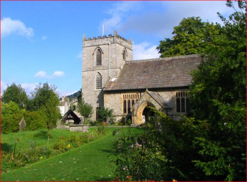 St Mary's Church, Kettlewell, Wharfedale, Yorkshire Dales National Park, North Yorkshire.