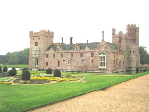 Oxburgh House in Norfolk