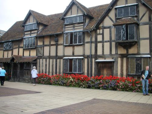 Stratford-Upon-Avon, England.  Shakespeare's childhood home