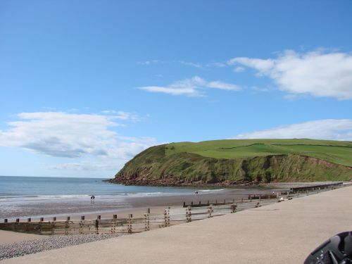 St Bees Head in Cumbria