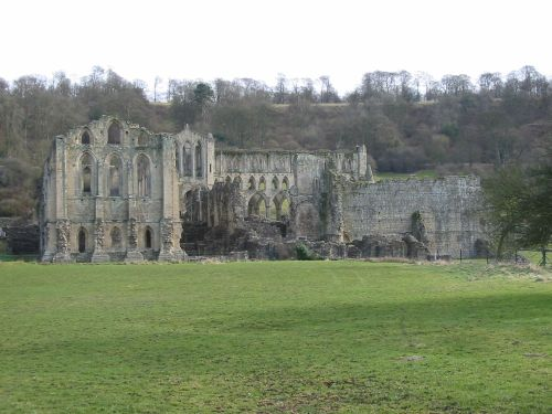 Rievaulx Abbey. North York Moors.