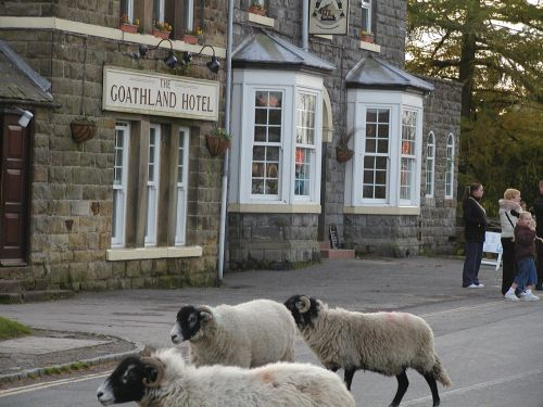 The Goathland Hotel - alias 'The Aidensfield Arms' from the hit TV series 'Heartbeat'