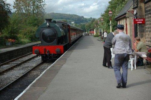Darley Dale Station, Darley Dale, Derbyshire. Peak Rail