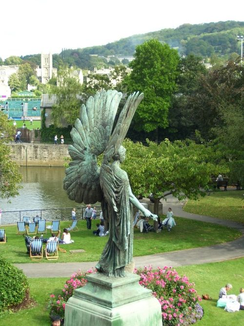 Park in Bath, Somerset.