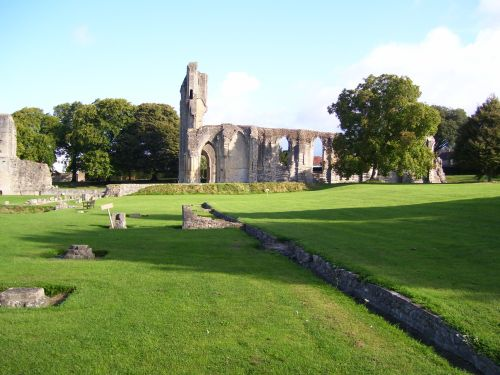 Glastonbury Abbey, Glastonbury, Somerset