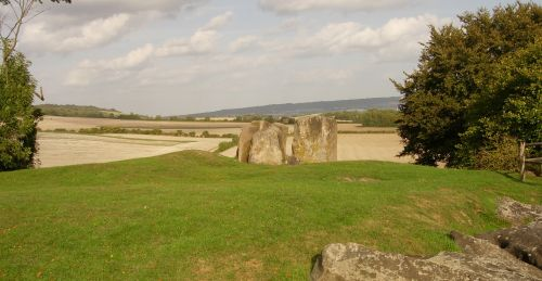 Coldrum Long Barrow - the least-damaged megalithic longbarrow in Kent.