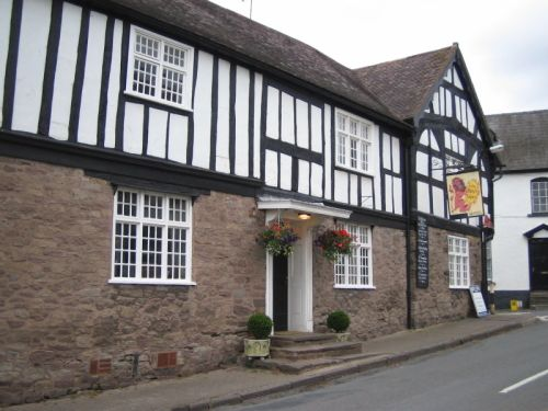 Red Lion, Weobley, Herefordshire.