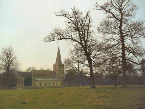 Church at Deene Park, Corby, Northamptonshire