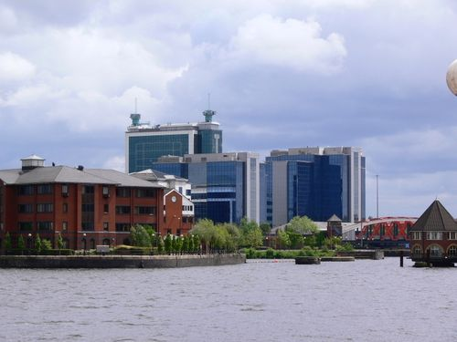 Salford Quays, Salford, Greater Manchester.