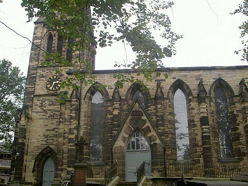 St James Parish Church, Heckmondwike, West Yorkshire.