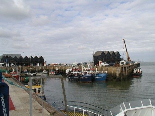 The Harbour, Whitstable, Kent.