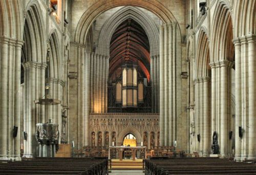 Ripon Cathedral, Ripon, Yorkshire.