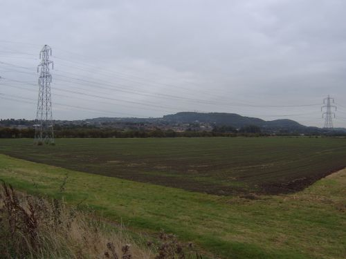 A view of Frodsham, Cheshire.