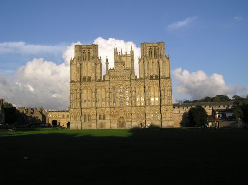 Wells Cathedral in Wells, Somerset