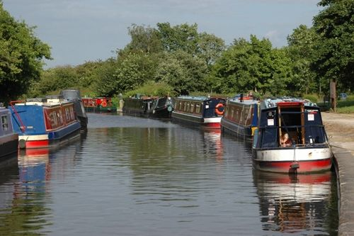Trent and Mersey Canal, Willington, Derbyshire