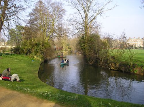 The river at Oxford