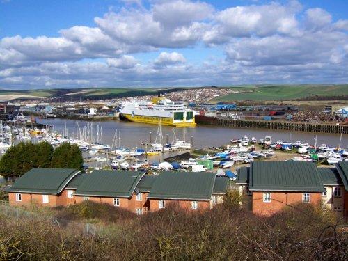 Quot Newhaven Harbour Newhaven East Sussex Quot By Chris Willis