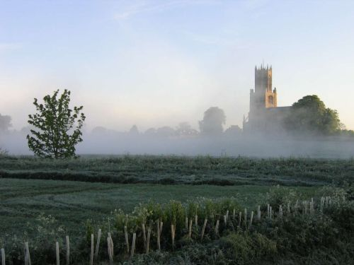 A picture of Fotheringhay