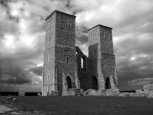 A picture of Reculver Towers & Roman Fort
