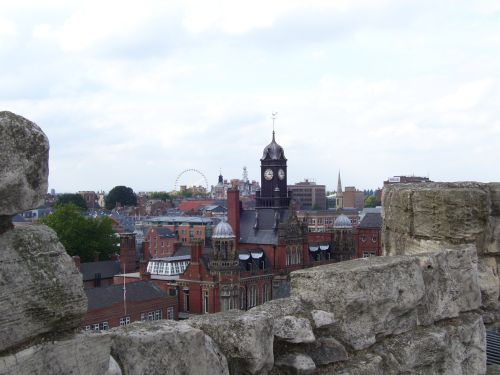 View from Clifford's Tower, York
