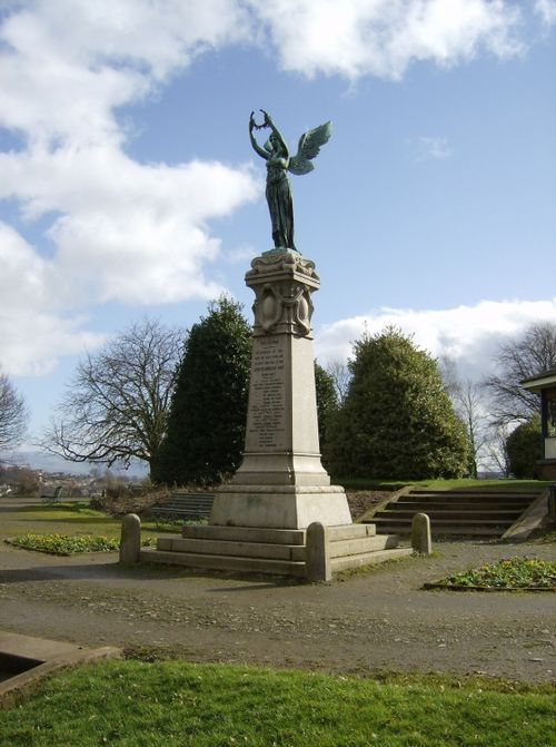 Penrith, Cumbria. Monument to the Boer War
